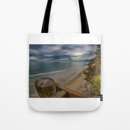 View from the Stairs at Swami's, Encinitas, California Tote Bag