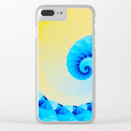Memories of Summer Clear iPhone Case