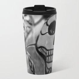 Skull disappears Travel Mug