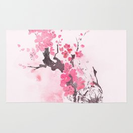 Blooming attack Rug