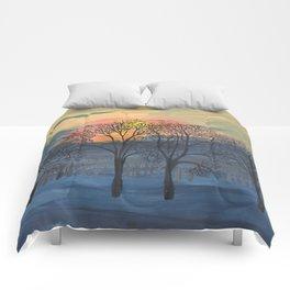 October Sunrise Comforters