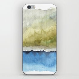 Green by the Sea iPhone Skin