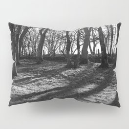 Railway Trees Pillow Sham