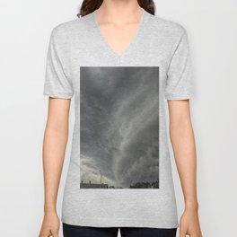Cloud Wall Turning Unisex V-Neck
