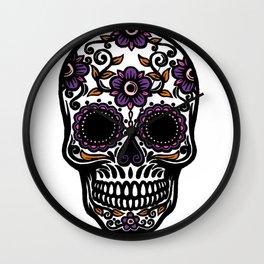 Sugar Skull 5 Wall Clock