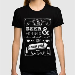 Beer and friends T-shirt