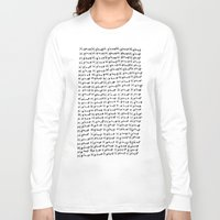 hiphop Long Sleeve T-shirts featuring HipHop  by Geryes