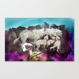 Life wants to live Canvas Print