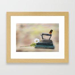 Ironing Day Framed Art Print