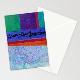 Color Block I Stationery Cards