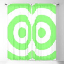 Target (Light Green & White Pattern) Blackout Curtain