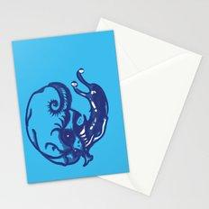 Slug skull Stationery Cards