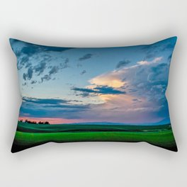 Montana Sunset Rectangular Pillow