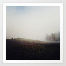 Within the Mist Art Print