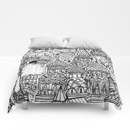To Russia, With Love Comforters
