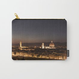 Night cityscape of Florence. Carry-All Pouch