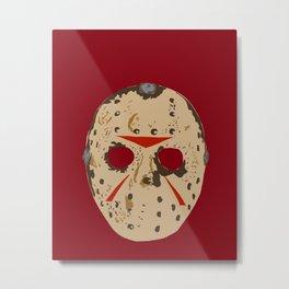 Jason Voorhees Metal Print