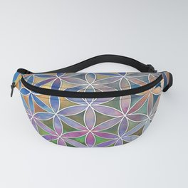 The Flower of Life in the Sky Fanny Pack