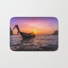 Longtail Sunset Bath Mat
