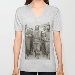 Che Guevara, Fidel Castro and Revolutionaries Unisex V-Neck