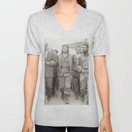 Che Guevara, Fidel Castro and Revolutionaries Unisex V-Neck