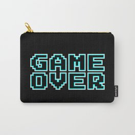 GAME OVER (blue) Carry-All Pouch