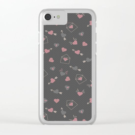 Letters for your sweetheart . Clear iPhone Case