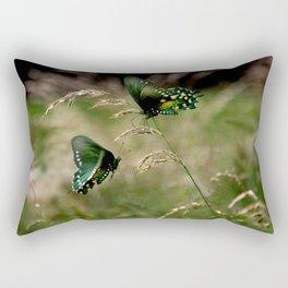 Swallowtail Butterflies Rectangular Pillow