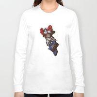 optimus prime Long Sleeve T-shirts featuring Optimus  by Sergey Yaroshenko