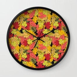 Autumn paradise. Wall Clock