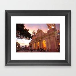 mexico church 2 Framed Art Print