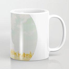 Circular landscape reeds Coffee Mug