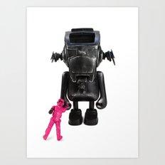 Dudebox Customs | no: 03, The Trooper Art Print