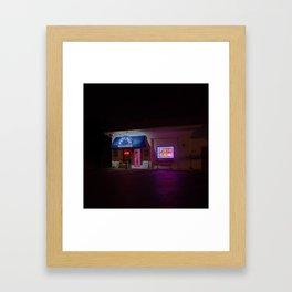 Psychic Readings Framed Art Print