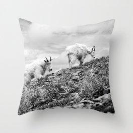 MOUNTAIN GOATS // 4 Throw Pillow