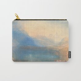 The Lake of Zug by Joseph Mallord William Turner 1843, British Carry-All Pouch