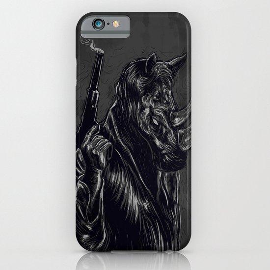 rhinoceros iPhone & iPod Case
