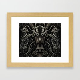 A Consumption of Memory and Identity Framed Art Print