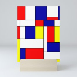 Mondrian #38 Mini Art Print