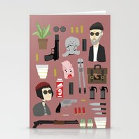 leon Stationery Cards featuring Leon  by Max the Kid
