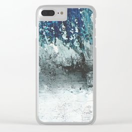 Winter Storm Clear iPhone Case