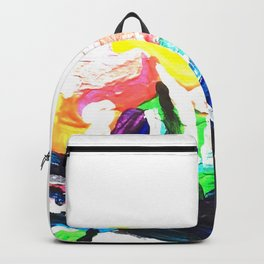 Rainbow Rhino Backpack