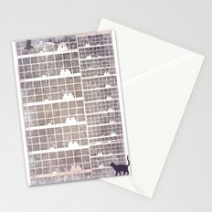 Our building, early in the morning Stationery Cards
