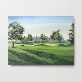 Winged Foot Golf Course New York Metal Print