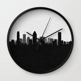City Skylines: Montreal Wall Clock