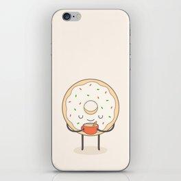 donut loves holidays iPhone Skin