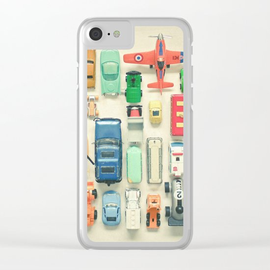 Free Parking Clear iPhone Case