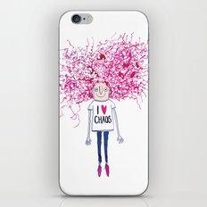 I love Chaos iPhone & iPod Skin