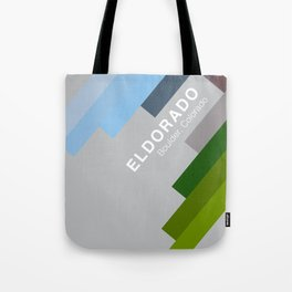The colors of climbing spots - ELDORADO CANYON Tote Bag