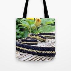 Garter Snake, High Park Gardens Tote Bag
